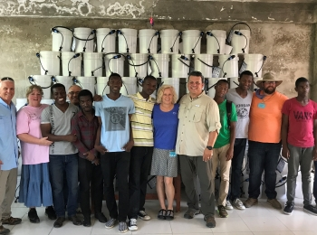 The Haiti team has returned